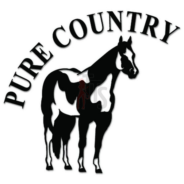 Pure Country Paint Horse Decal Sticker