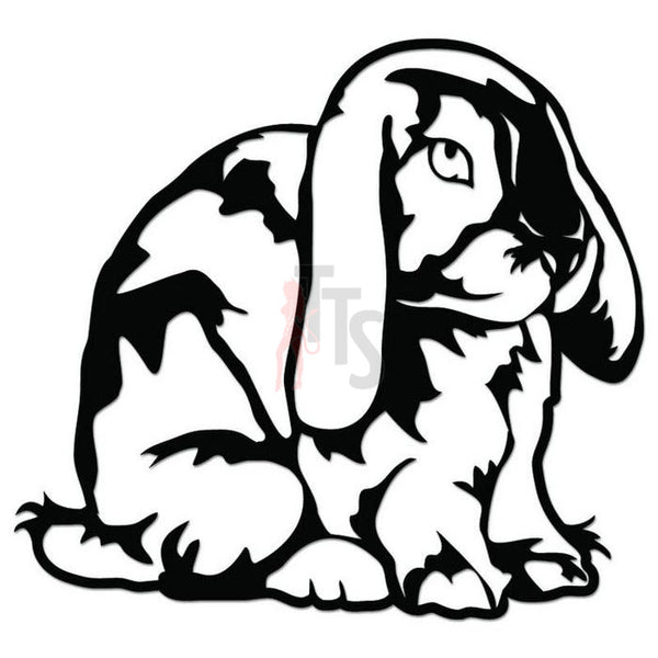Rabbit Bunny Pet Decal Sticker