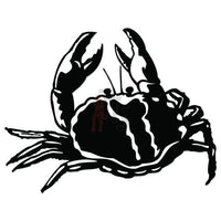 Crab Seafood Decal Sticker Style 6