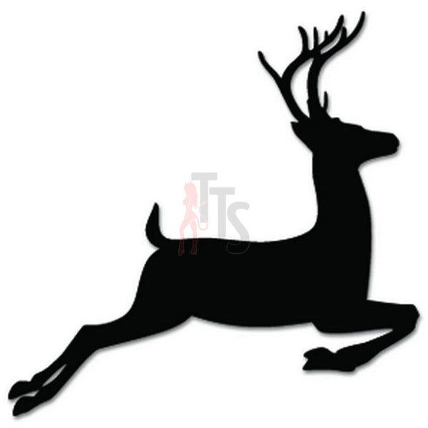 Deer Buck Animal Decal Sticker Style 10