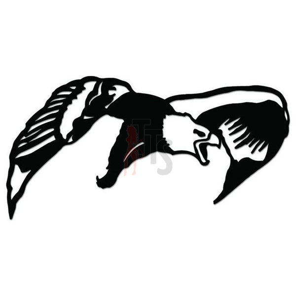 Eagle Bird Decal Sticker Style 4