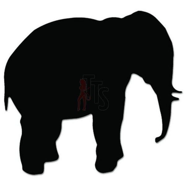 Elephant Animal Decal Sticker Style 1