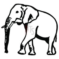 Elephant Animal Decal Sticker Style 3