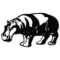 Hippo Animal Decal Sticker