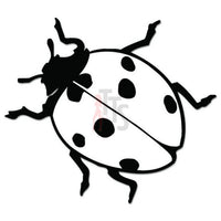 Ladybug Insect Decal Sticker Style 5