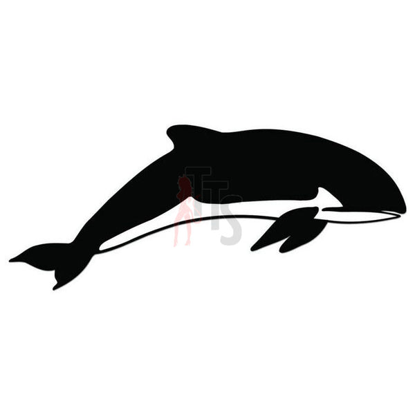 Orca Whale Fish Decal Sticker Style 2