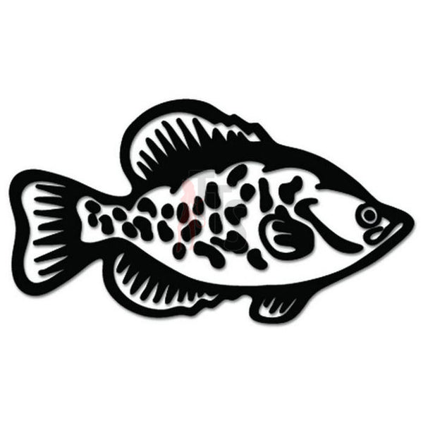 Panfish Fish Decal Sticker