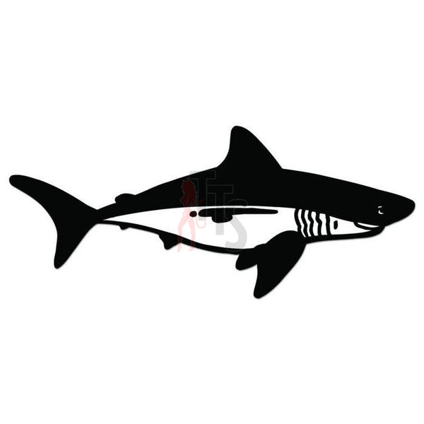 Shark Fish Decal Sticker Style 3