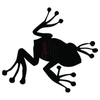 Tree Frog Decal Sticker Style 2
