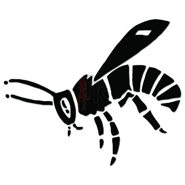 Tribal Bee Insect Decal Sticker