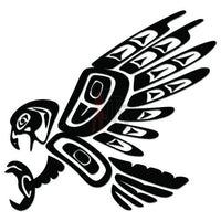 Eagle Bird Tribal Art Decal Sticker Style 1