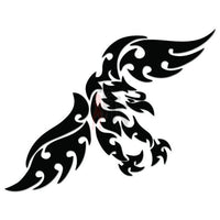 Eagle Bird Tribal Art Decal Sticker Style 2