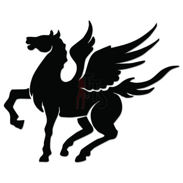 Pegasus Horse Decal Sticker Style 3