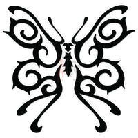 Butterfly Tribal Art Decal Sticker Style 13