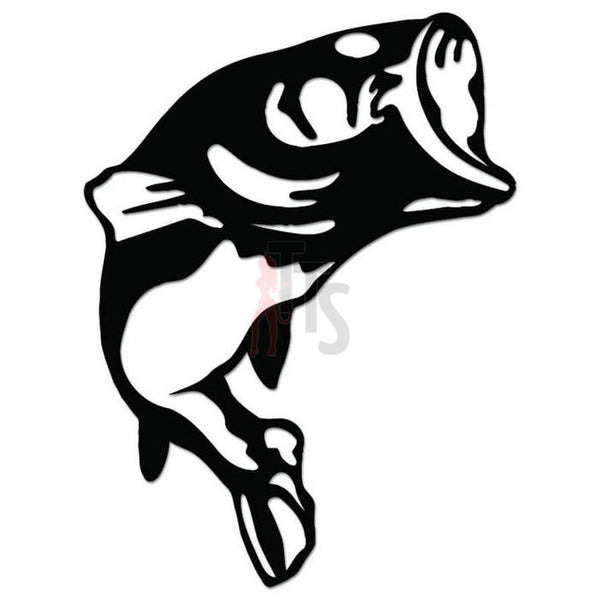 Trout Fish Fishing Decal Sticker Style 2