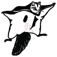 Flying Squirrel Decal Sticker