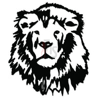Lion Animal Decal Sticker Style 1