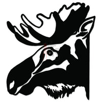 Moose Animal Decal Sticker Style 6