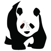 Panda Bear Decal Sticker Style 3