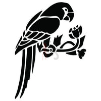 Parrot Bird Pet Decal Sticker Style 3