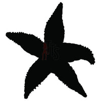 Starfish Decal Sticker