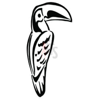 Toucan Bird Decal Sticker Style 1