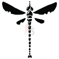 Dragonfly Tribal Art Decal Sticker Style 4