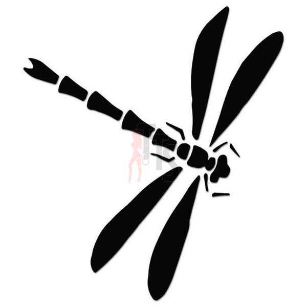 Dragonfly Tribal Art Decal Sticker Style 5