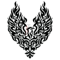 Eagle Bird Tribal Art Decal Sticker Style 4