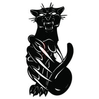 Panther Cat Tribal Art Decal Sticker Style 3