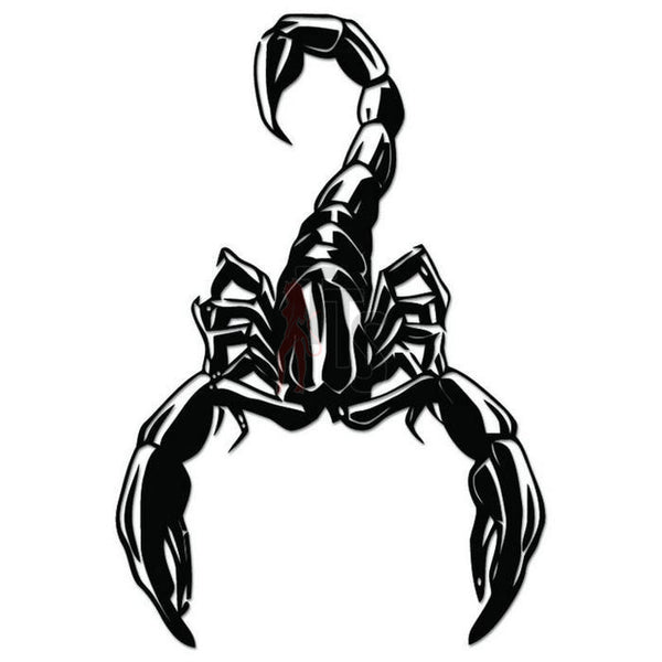 Scorpion Tribal Art Decal Sticker Style 9
