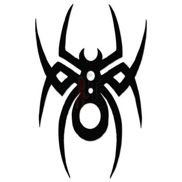 Spider Poison Tribal Art Decal Sticker Style 3