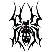 Spider Poison Tribal Art Decal Sticker Style 4