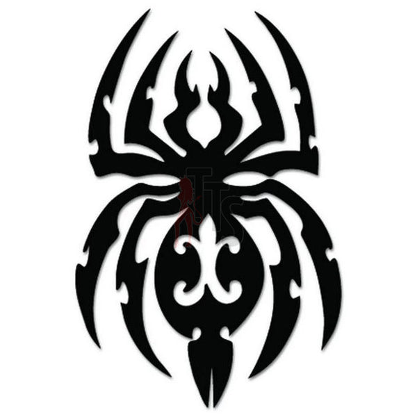 Spider Poison Tribal Art Decal Sticker Style 5