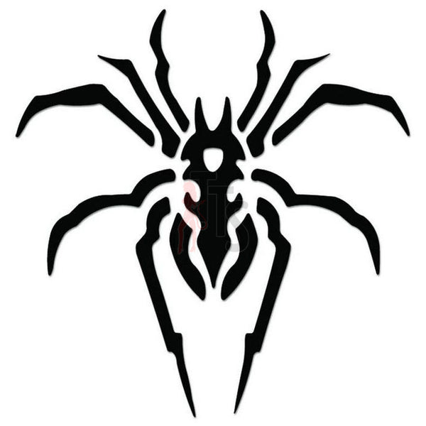 Spider Poison Tribal Art Decal Sticker Style 9