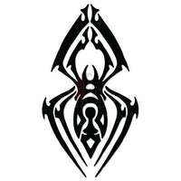 Spider Poison Tribal Art Decal Sticker Style 10