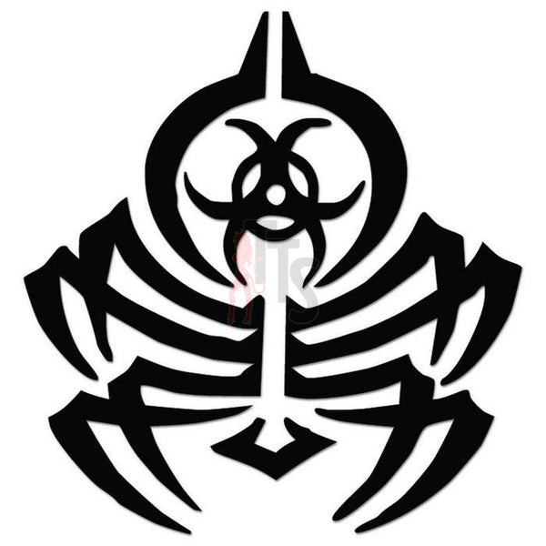 Spider Radioactive Tribal Art Decal Sticker