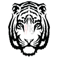 Tiger Head Animal Decal Sticker Style 3