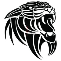 Tiger Tribal Art Decal Sticker