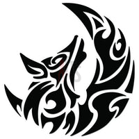 Wolf Tribal Art Decal Sticker Style 5