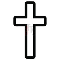 Cross Christian Decal Sticker Style 1