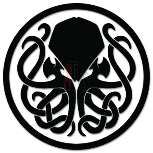 Cthulha Sign Symbol Decal Sticker
