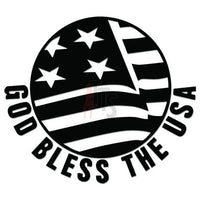 God Bless USA Decal Sticker