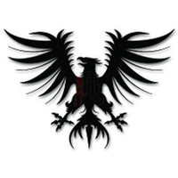 Heraldry Eagle Decal Sticker