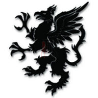 Heraldry Griffin Emblem Decal Sticker