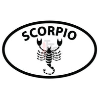 Scorpio Horoscope Decal Sticker