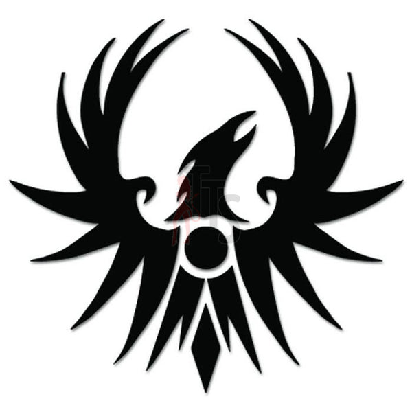 Phoenix Rising Mythical Bird Decal Sticker