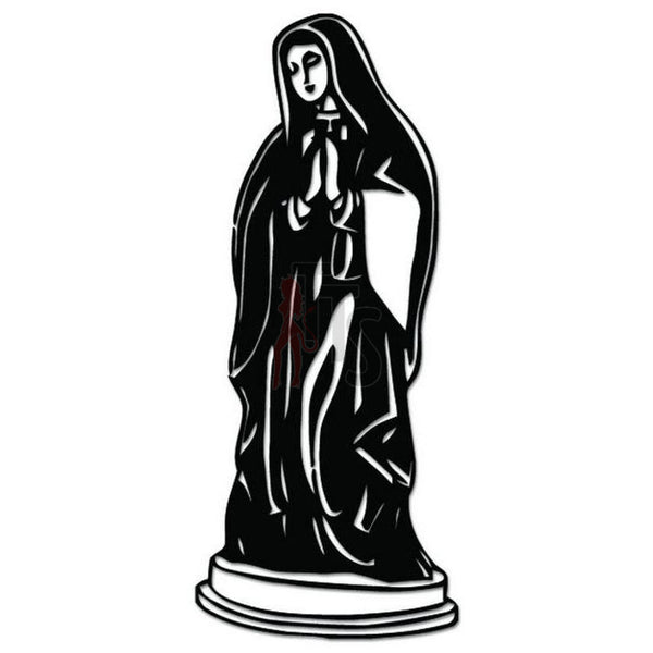 Virgin Mary Decal Sticker