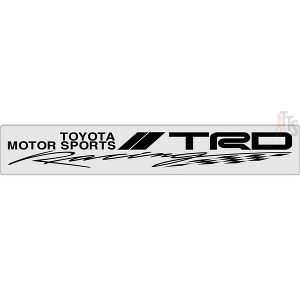 TRD Racing Windshield Banner Decal Sticker Style 1