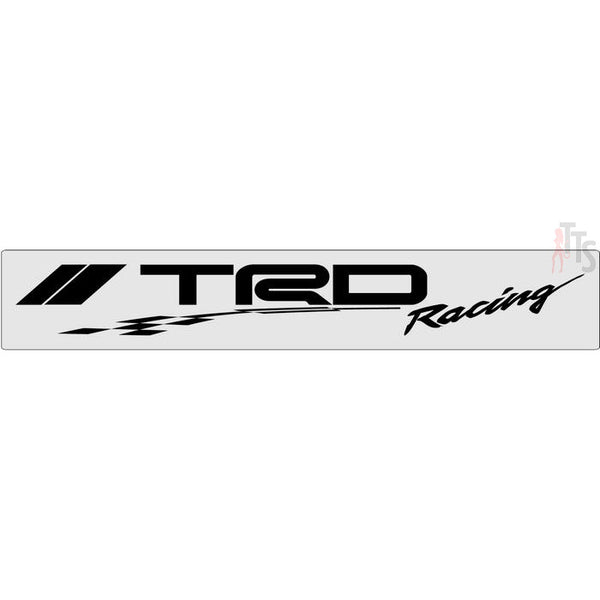 TRD Racing Windshield Banner Decal Sticker Style 2